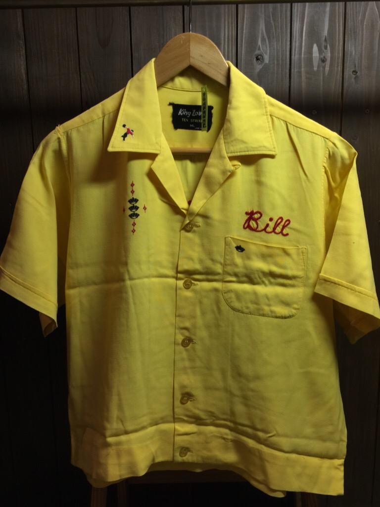 神戸店6/17(水)夏物ヴィンテージ入荷!#1  Bowling Shirt① BlackRayon!(T.W.神戸店)_c0078587_14131262.jpg