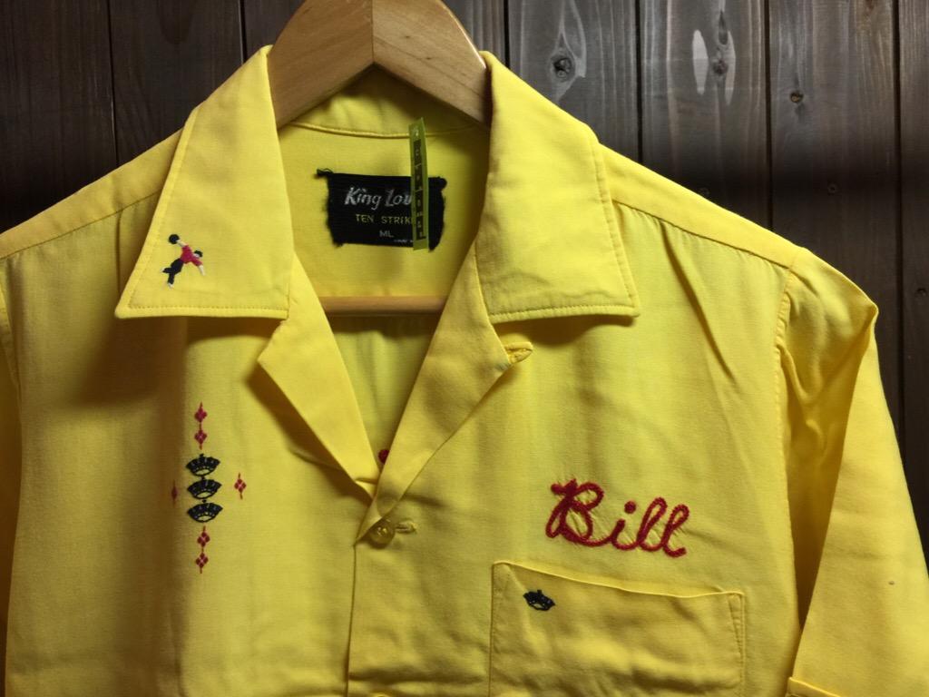 神戸店6/17(水)夏物ヴィンテージ入荷!#1  Bowling Shirt① BlackRayon!(T.W.神戸店)_c0078587_1413417.jpg