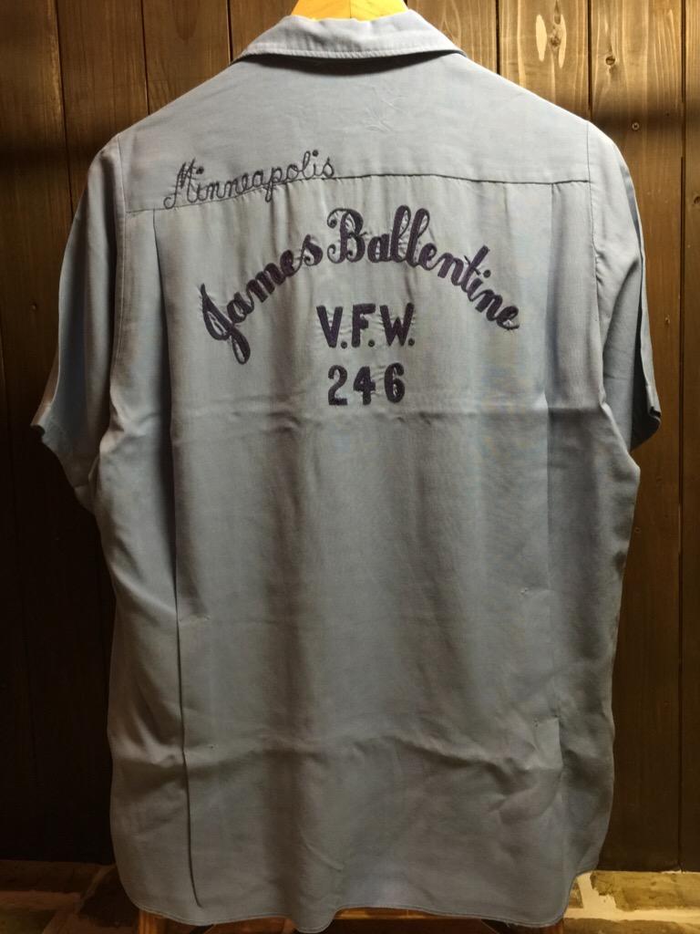 神戸店6/17(水)夏物ヴィンテージ入荷!#1  Bowling Shirt① BlackRayon!(T.W.神戸店)_c0078587_14154793.jpg