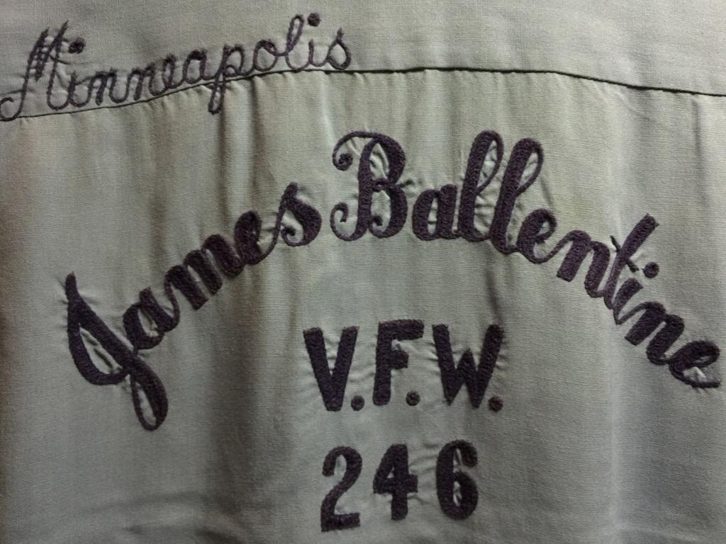 神戸店6/17(水)夏物ヴィンテージ入荷!#1  Bowling Shirt① BlackRayon!(T.W.神戸店)_c0078587_1416667.jpg