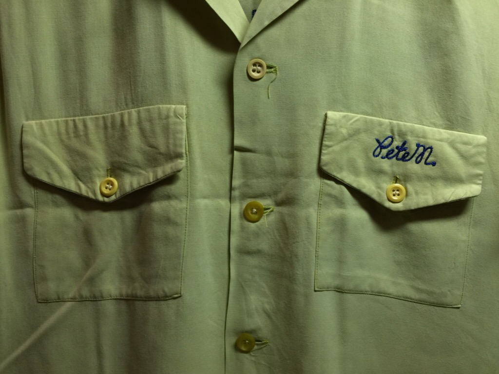 神戸店6/17(水)夏物ヴィンテージ入荷!#1  Bowling Shirt① BlackRayon!(T.W.神戸店)_c0078587_14175925.jpg