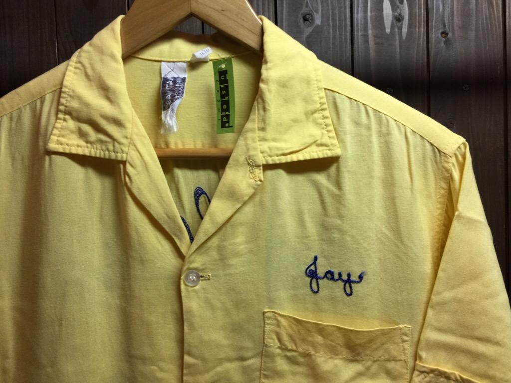 神戸店6/17(水)夏物ヴィンテージ入荷!#1  Bowling Shirt① BlackRayon!(T.W.神戸店)_c0078587_14191294.jpg