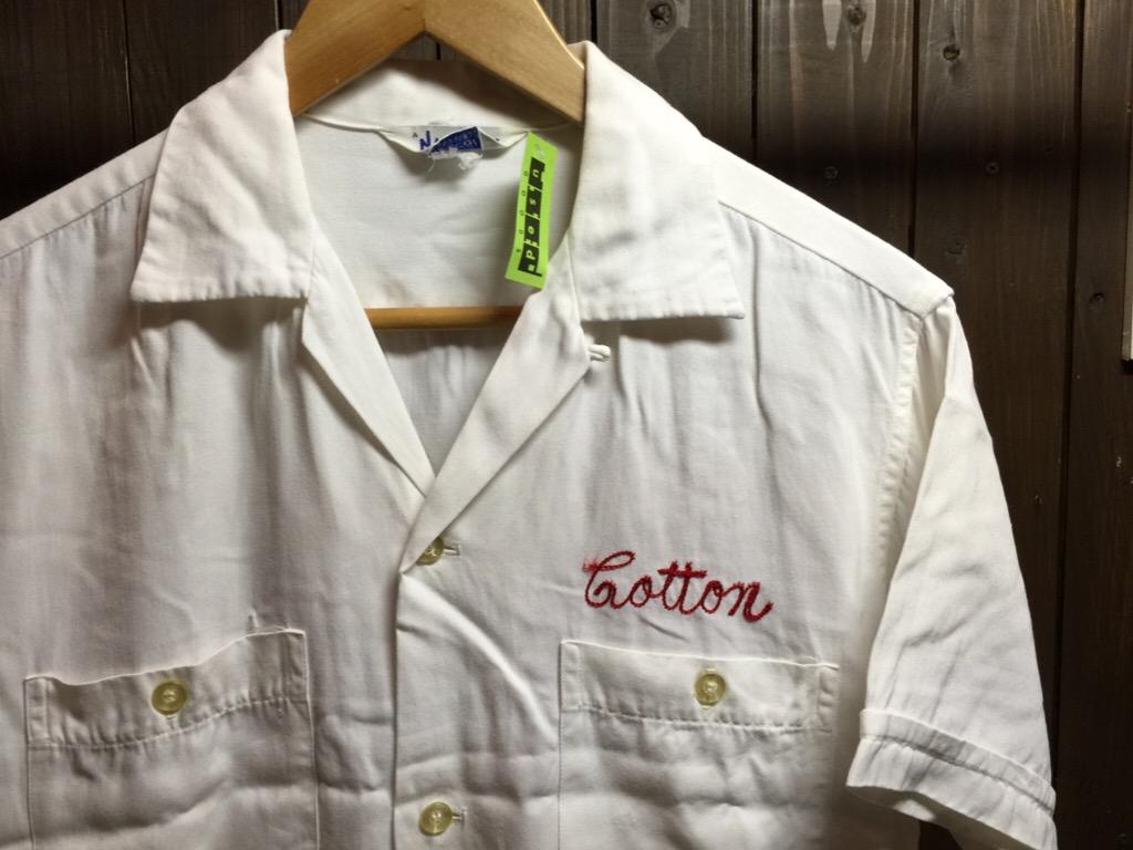 神戸店6/17(水)夏物ヴィンテージ入荷!#1  Bowling Shirt① BlackRayon!(T.W.神戸店)_c0078587_1421669.jpg