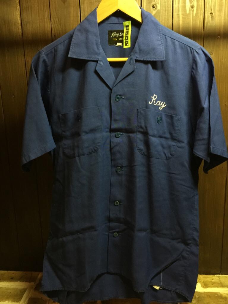 神戸店6/17(水)夏物ヴィンテージ入荷!#1  Bowling Shirt① BlackRayon!(T.W.神戸店)_c0078587_14224819.jpg