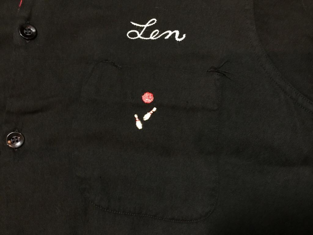 神戸店6/17(水)夏物ヴィンテージ入荷!#1  Bowling Shirt① BlackRayon!(T.W.神戸店)_c0078587_1493026.jpg