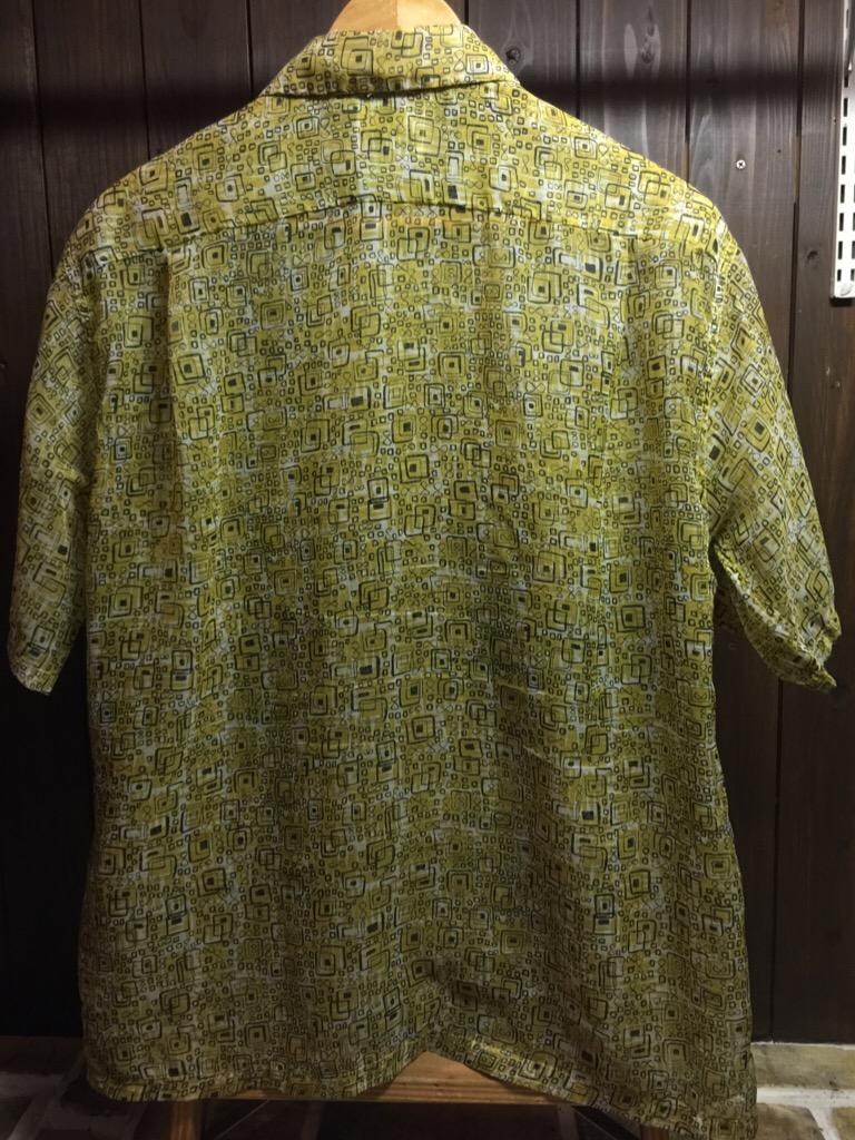 神戸店6/17(水)夏物ヴィンテージ入荷!#4 Print,Check,Stripe Shirt!(T.W.神戸店)_c0078587_20112990.jpg