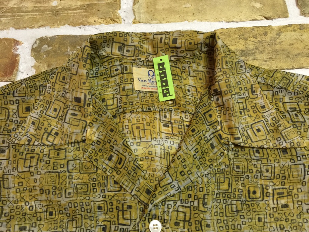 神戸店6/17(水)夏物ヴィンテージ入荷!#4 Print,Check,Stripe Shirt!(T.W.神戸店)_c0078587_20121263.jpg