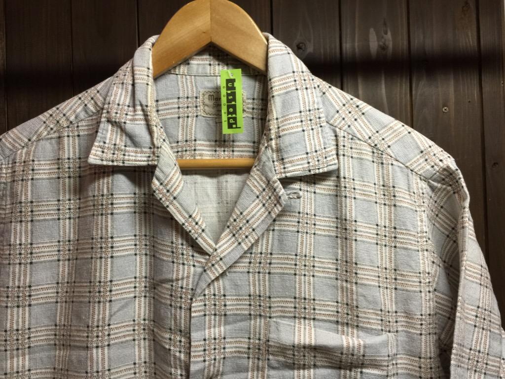 神戸店6/17(水)夏物ヴィンテージ入荷!#4 Print,Check,Stripe Shirt!(T.W.神戸店)_c0078587_202113.jpg