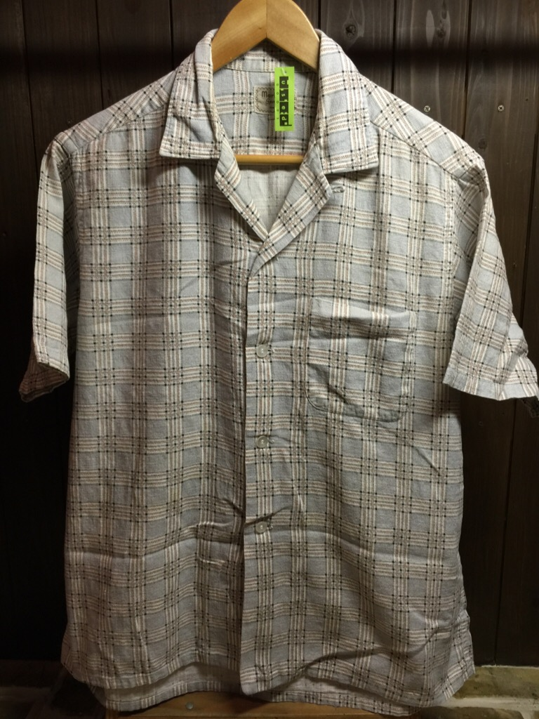 神戸店6/17(水)夏物ヴィンテージ入荷!#4 Print,Check,Stripe Shirt!(T.W.神戸店)_c0078587_2021963.jpg