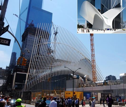 NYのパーク・アベニューに建築家でもあるSantiago Calatravaさんのアート作品登場中_b0007805_12411575.jpg