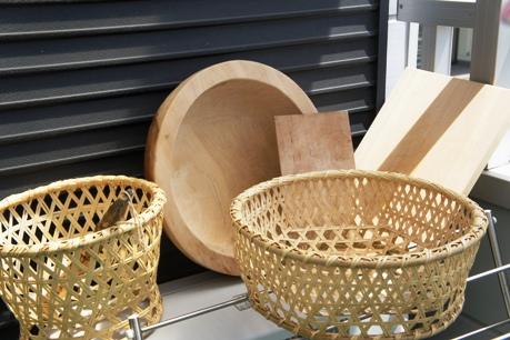 竹ざる・菜箸・まな板などは天日干しで乾燥&お手入れを