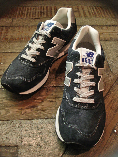 "NEW : new balance [M1400] ""NAVY"" & ""BEIGE"" Made in USA!!_a0132147_19182177.jpg"
