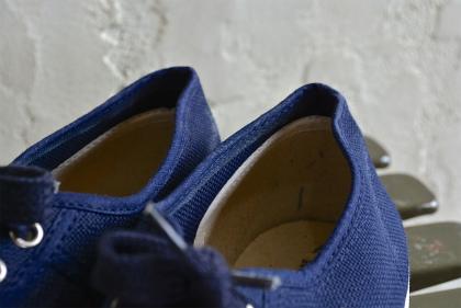 Italian navy canvas sneaker dead stock_f0226051_13271510.jpg