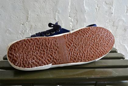 Italian navy canvas sneaker dead stock_f0226051_13273458.jpg