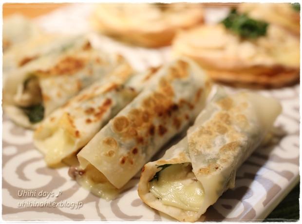 鶏と大葉のチーズ焼き_f0179404_22385099.jpg