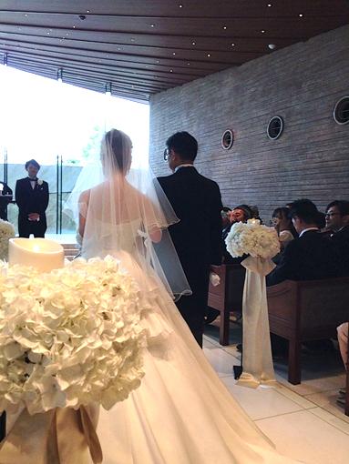結婚式に、感激!感涙!_f0131628_0415814.jpg