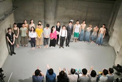 「シアター21フェス」100回記念公演盛況裏に終わる_d0178431_0493215.jpg