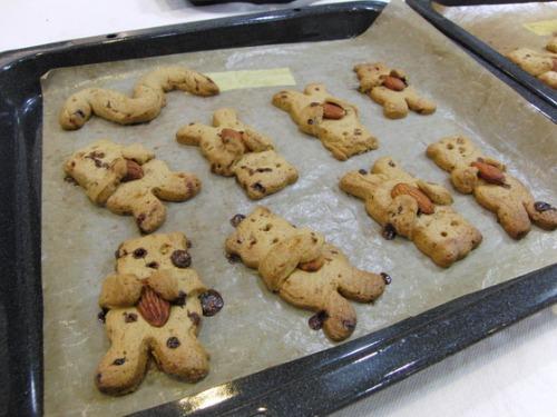 パンレク ~ くまさんクッキー ~_e0222340_15371839.jpg