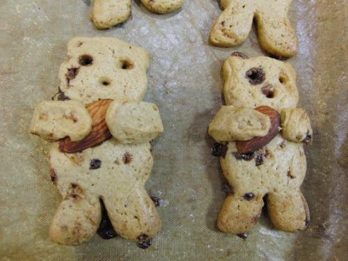 パンレク ~ くまさんクッキー ~_e0222340_15582180.jpg