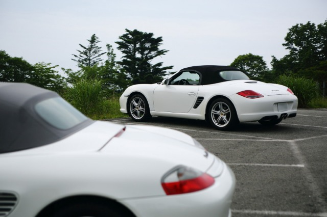 Good morning Boxster -- 茶臼山 --_b0078651_22473920.jpg