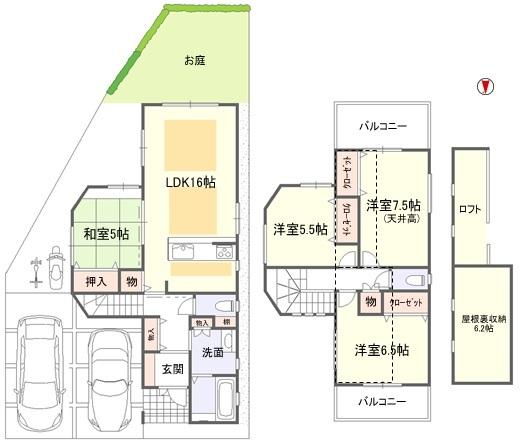 ハピネス吉田ⅡA号地★建物完成★外構工事中_e0251265_15372286.jpg