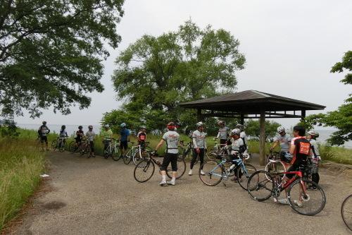琵琶湖 サイクリング_b0332867_22320662.jpg