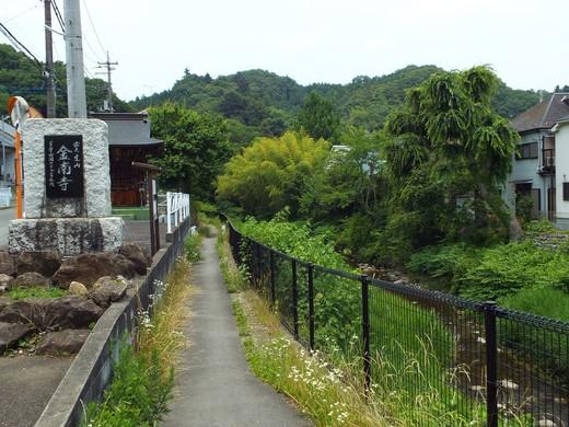 6月15日 高尾・南浅川の滝_e0145782_12444177.jpg