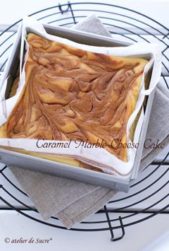 N.Yチーズケーキとキャラメルマーブルチーズケーキ_b0065587_1334203.jpg