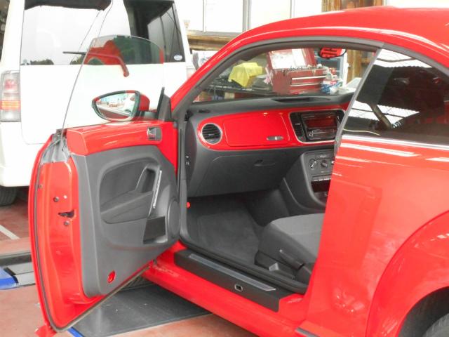 赤のビートルの納車です_c0267693_15305121.jpg