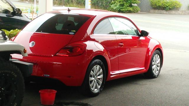 赤のビートルの納車です_c0267693_15305135.jpg