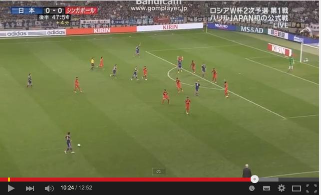キリンの呪い「交通渋滞サッカー」:本田「僕達のサッカーをしたいんで」→仲間にパスせず!_e0171614_1438981.png