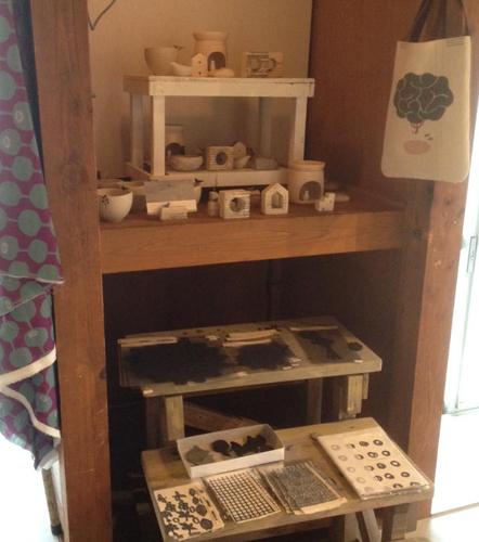 和紙と陶とファブリック9日間の展示が終了致しました。/ぎゃらりーマドベ_a0251920_15150422.jpg