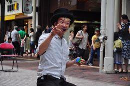 一番町四丁目大道芸初見参!_b0008475_2221737.jpg