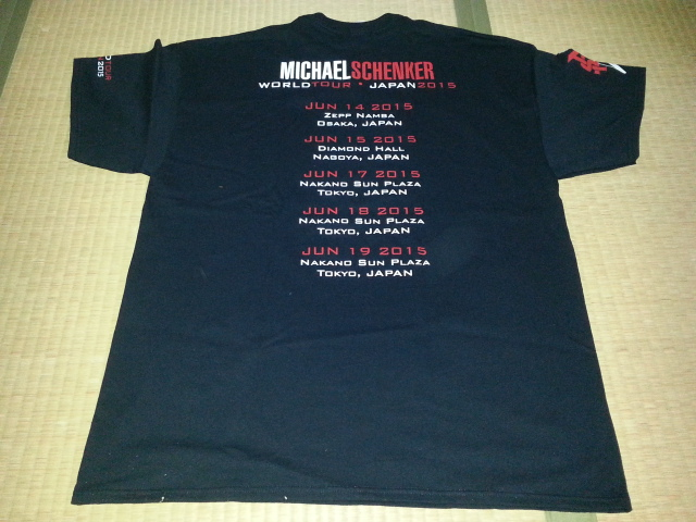 MICHAEL SCHENKER\'S TEMPLE OF ROCK 日本公演東京初日お土産_b0042308_104381.jpg
