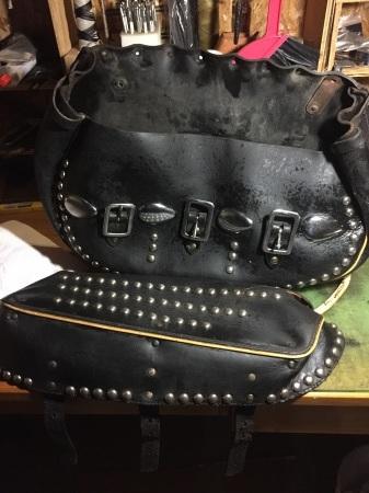 H-D 純正オプション Deluxe Saddle Bags  レストアPart1_c0332424_01034707.jpg