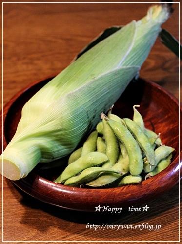 トウモロコシご飯弁当と平焼きあんぱん♪_f0348032_19191253.jpg