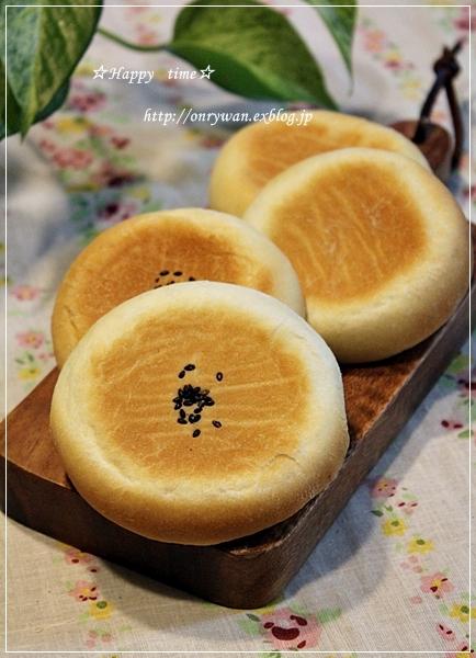 トウモロコシご飯弁当と平焼きあんぱん♪_f0348032_19193705.jpg