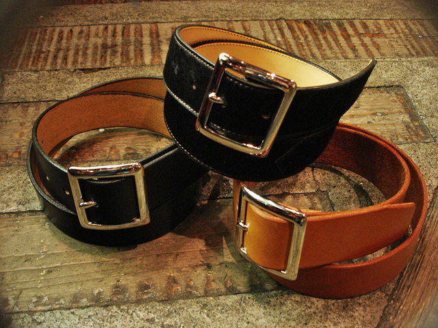 Jutta Neumann New York [Garrison Buckle] Belt !!_a0132147_23413311.jpg