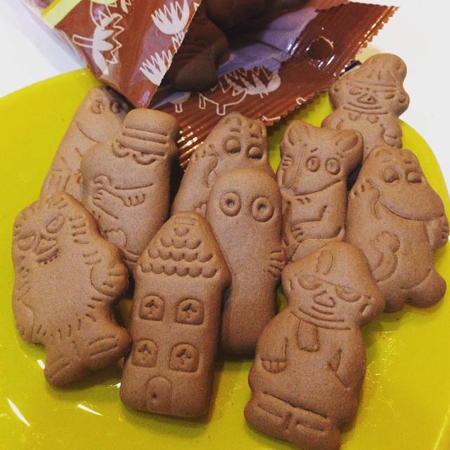 Moomin biscuit_b0195783_11472515.jpg