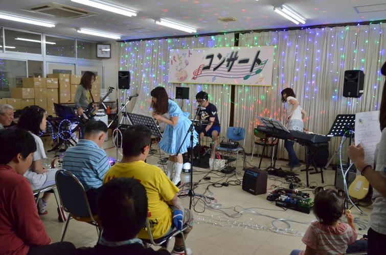6月6日、パレットコンサート@仲間園♪_e0188087_23325798.jpg