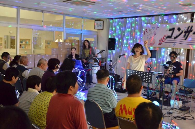 6月6日、パレットコンサート@仲間園♪_e0188087_2337330.jpg