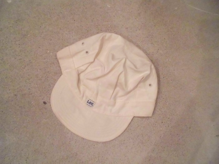 Early60\'s DEAD STOCK Lee HBT Engineer Cap NOS ① _e0187362_14421313.jpg
