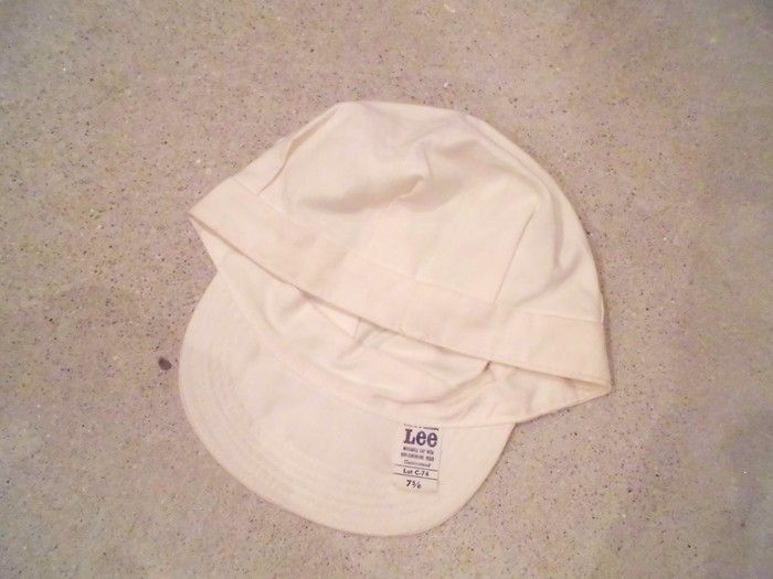 Early60\'s DEAD STOCK Lee HBT Engineer Cap NOS ① _e0187362_14424599.jpg
