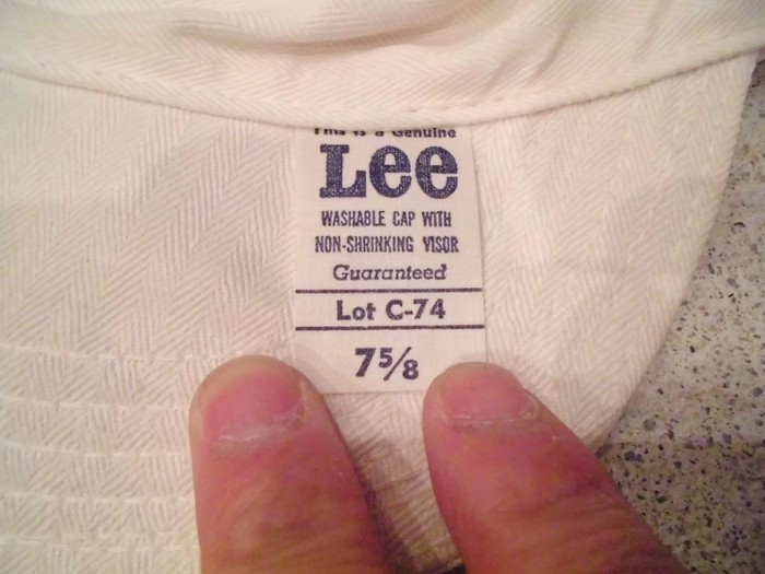 Early60\'s DEAD STOCK Lee HBT Engineer Cap NOS ① _e0187362_1443058.jpg