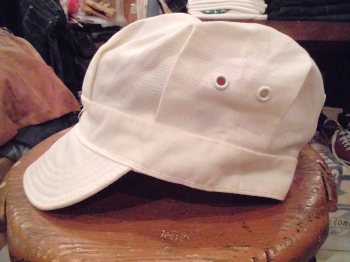 Early60\'s DEAD STOCK Lee HBT Engineer Cap NOS ① _e0187362_14442913.jpg