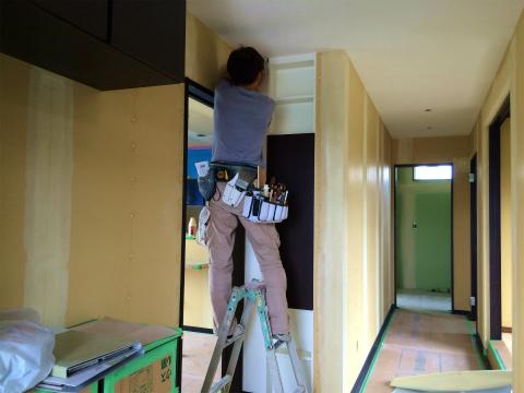 寺島 Iさんの家 ★内装工事、左官工事、板金工事_d0205883_16214245.jpg