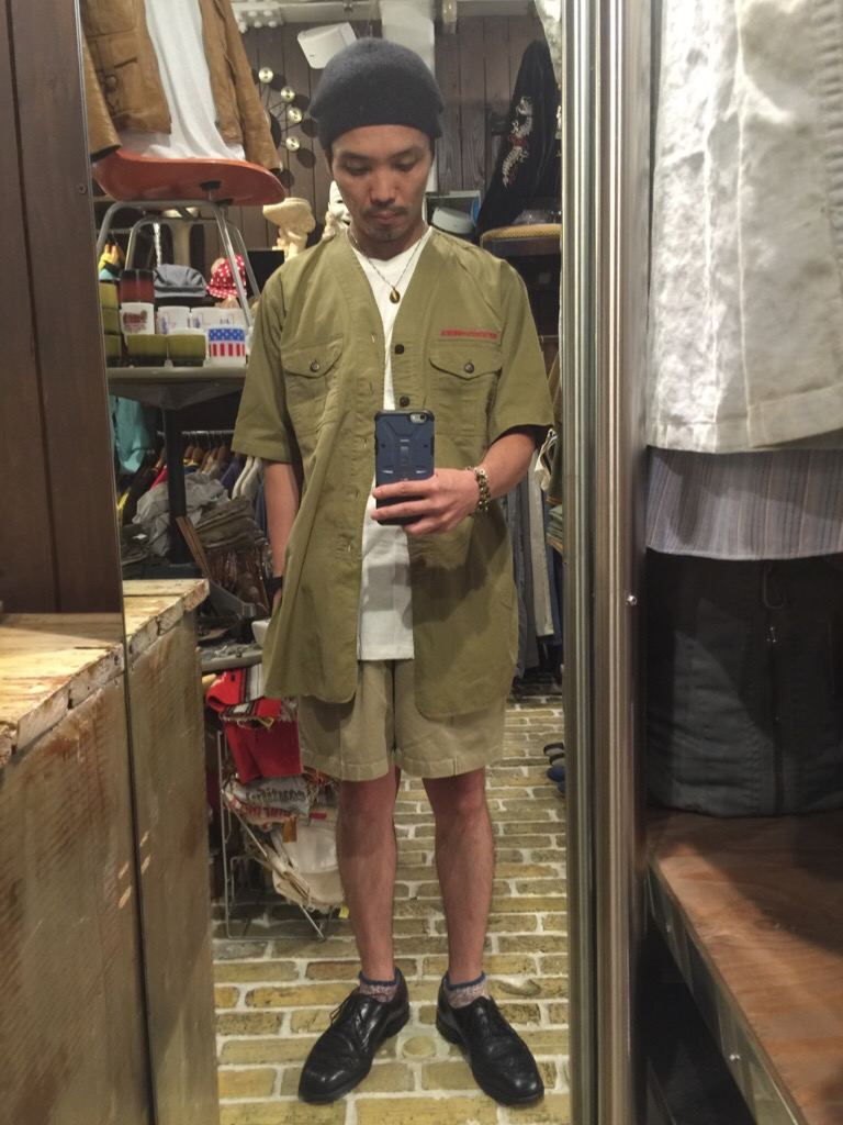 襟なしシャツの魅力!+本日のお知らせです。(T.W.神戸店)_c0078587_1491847.jpg