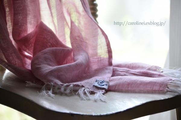 父の日のストール  Handmade Stole for Father\'s Day_d0025294_2227124.jpg