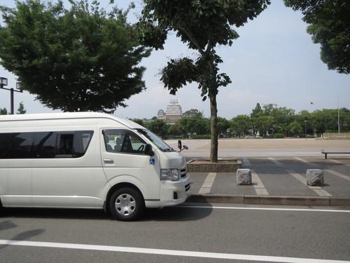 苑外活動 「姫路城車窓にて見学」_a0158095_1015288.jpg