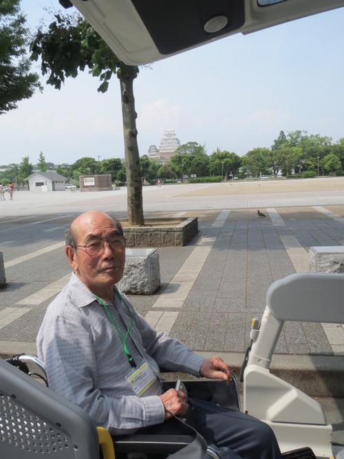 苑外活動 「姫路城車窓にて見学」_a0158095_1094720.jpg